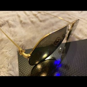 Cartier 62mm aviator sunglasses